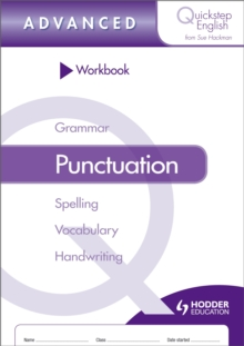 Quickstep English Workbook Punctuation Advanced Stage, Paperback / softback Book