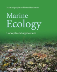 Marine Ecology - Concepts and Applications, Paperback Book