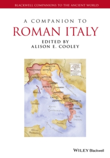 A Companion to Roman Italy, Hardback Book