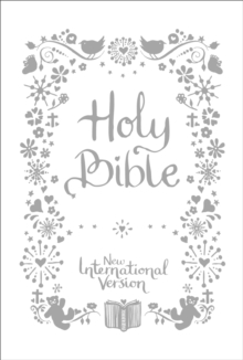 NIV Tiny White Christening Bible, Hardback Book