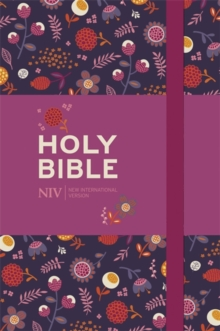 NIV Pocket Floral Notebook Bible, Hardback Book