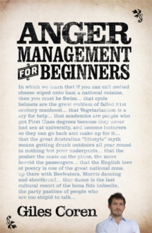 Anger Management (for Beginners), Paperback Book