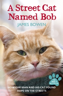 A Street Cat Named Bob : How one man and his cat found hope on the streets, Paperback Book