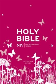 NIV Tiny Pink Soft-Tone Bible with Zip, Paperback Book