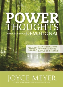 Power Thoughts Devotional : 365 daily inspirations for winning the battle of your mind, Paperback / softback Book