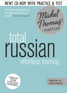 Total Russian Foundation Course: Learn Russian with the Michel Thomas Method, CD-Audio Book