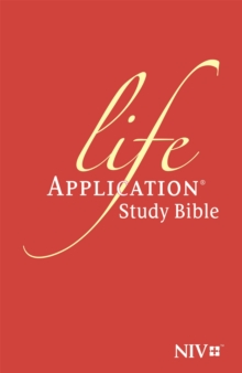 NIV Life Application Study Bible (Anglicised), Hardback Book