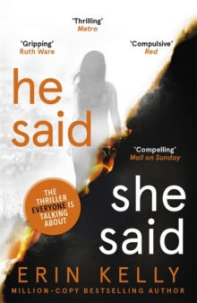 He Said/She Said : the gripping Sunday Times bestseller with a shocking twist, Paperback Book