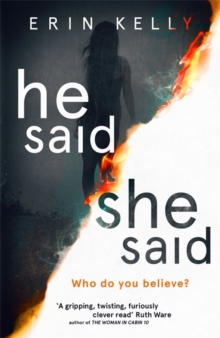 He Said/She Said : the gripping Sunday Times bestseller with a shocking twist, Hardback Book