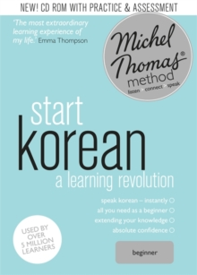 Start Korean (Learn Korean with the Michel Thomas Method), CD-Audio Book