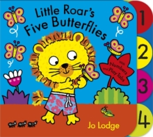 Little Roar: Little Roar's Five Butterflies : Board Book, Board book Book