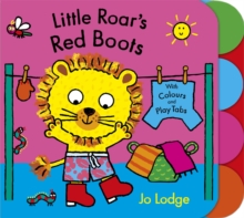 Little Roar's Red Boots Board Book, Board book Book
