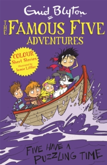 Famous Five Colour Short Stories: Five Have a Puzzling Time, Paperback / softback Book