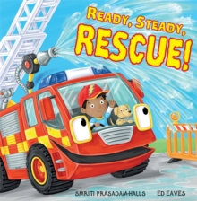 Ready Steady Rescue, Hardback Book