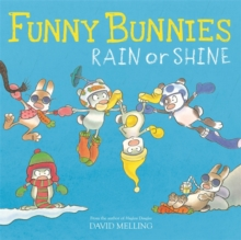 Funny Bunnies: Rain or Shine, Paperback Book