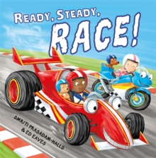 Ready Steady Race, Hardback Book