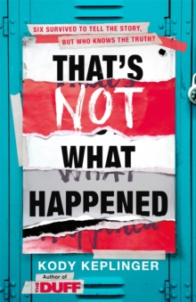 That's Not What Happened, Paperback / softback Book
