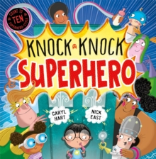 Knock Knock Superhero, Hardback Book