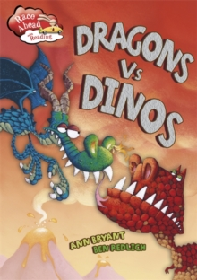 Race Ahead With Reading: Dragons V Dinos, Paperback Book