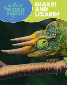 Really Weird Animals: Snakes and Lizards, Paperback Book