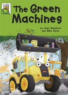 Froglets: The Green Machines, Paperback Book