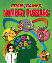 Brain Games: Number Puzzles, Hardback Book