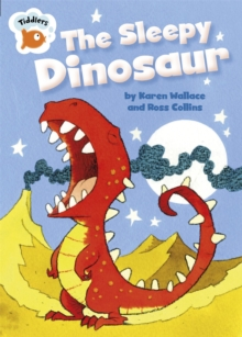 The Sleepy Dinosaur, Paperback Book