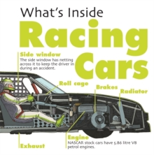 What's Inside?: Racing Cars, Hardback Book