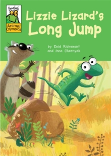 Froglets: Animal Olympics: Lizzie Lizard's Long Jump, Hardback Book