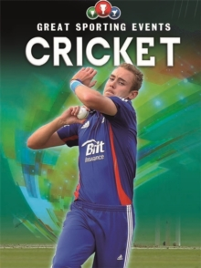 Great Sporting Events: Cricket, Paperback Book