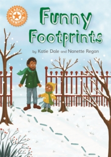 Reading Champion: Funny Footprints : Independent Reading Orange 6, Hardback Book