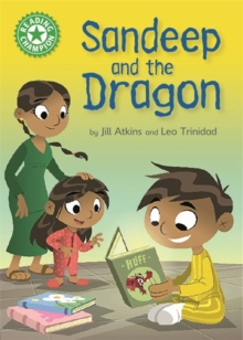 Reading Champion: Sandeep and the Dragon : Independent Reading Green 5, Hardback Book