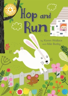 Reading Champion: Hop and Run : Independent Reading Yellow 3, Hardback Book