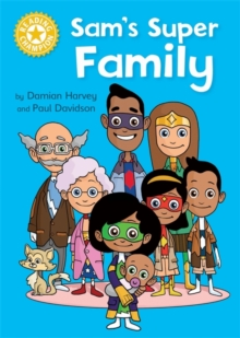 Reading Champion: Sam's Super Family : Independent Reading Yellow, Hardback Book