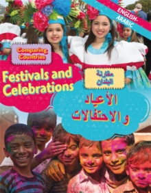 Dual Language Learners: Comparing Countries: Festivals and Celebrations (English/Arabic), Hardback Book