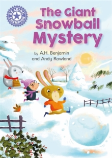 Reading Champion: The Giant Snowball Mystery : Independent Reading Purple 8, Hardback Book