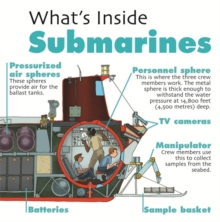 What's Inside?: Submarines, Paperback Book
