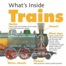 What's Inside?: Trains, Paperback Book