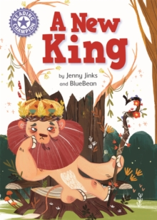 Reading Champion: A New King : Independent Reading Purple 8, Paperback / softback Book