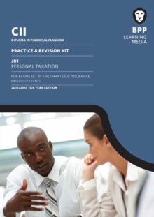CII - J01 Personal Tax : Revision Kit, Paperback Book