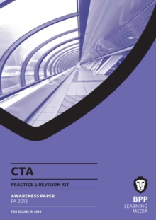 CTA Awareness FA2013 : Revision Kit, Paperback Book