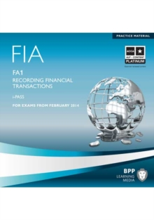 FIA Recording Financial Transactions FA1 : i-Pass, CD-ROM Book