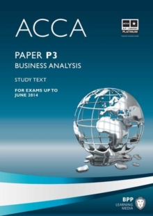 ACCA - P3 Business Analysis : Study Text, Paperback Book