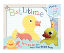 Little Learners - Bathtime: Squirt, Splash and Play!, Bath book Book