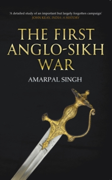The First Anglo-Sikh War, Paperback Book
