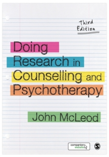 Doing Research in Counselling and Psychotherapy, Paperback / softback Book
