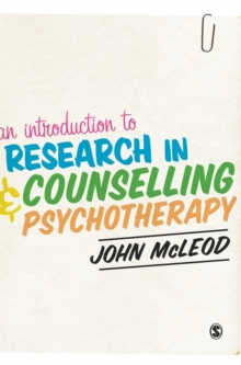 An Introduction to Research in Counselling and Psychotherapy, Hardback Book