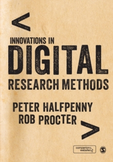 Innovations in Digital Research Methods, Paperback Book