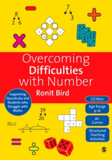 Overcoming Difficulties with Number : Supporting Dyscalculia and Students who Struggle with Maths, PDF eBook