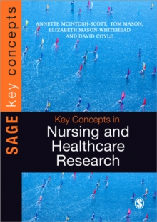 Key Concepts in Nursing and Healthcare Research, Paperback / softback Book